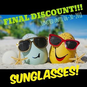 FINAL SUMMER DISCOUNT on Ray Ban Sunglasses!!!